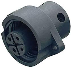 Connecteur circulaire Série: 692 Binder 09-0212-00-04 embase mâle Nbr total de pôles: 3 + PE 1 pc(s)
