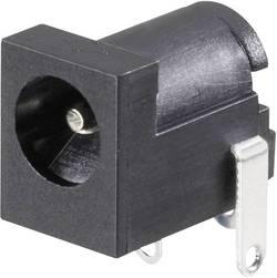 Fiche d'alimentation DC embase femelle horizontale Conrad Components 733980 Ø intérieur: 6.3 mm 1 pc(s)