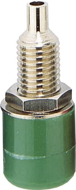 Fiche femelle de laboratoire TRU COMPONENTS 1582231 embase femelle, verticale Ø de la broche: 4 mm vert 1 pc(s)
