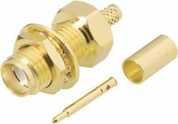 Connecteur SMA à polarité inversée embase femelle, verticale 50 Ω BKL Electron