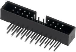 W & P Products Embase mâle Pas: 2 mm Nbr total de pôles: 8 Nbr de rangées: 2 1 pc(s)