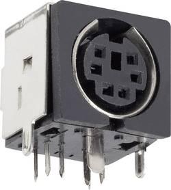 Mini DIN embase femelle horizontale BKL Electronic 0204046 Nombre total de pôles: 3 noir 1 pc(s)