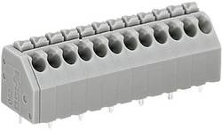 Bornier à ressort WAGO 250-202 1.50 mm² Nombre total de pôles 2 gris 1 pc(s)