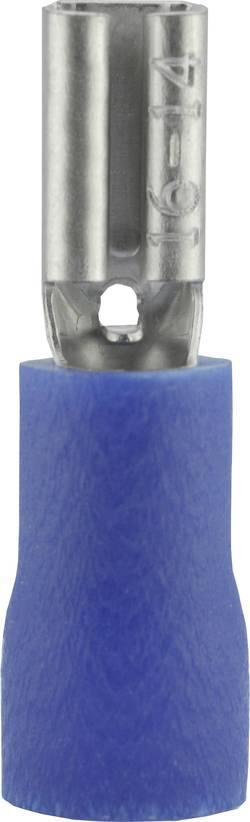 Cosse clip 2.8 mm x 0.5 mm Vogt Verbindungstechnik 389905S 1.50 mm² 2.50 mm² partiellement isolé bleu 1 pc(s)