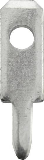 Contact à languette 2.8 x 0.8 mm Vogt Verbindungstechnik 378008,68 non isolé métal 100 pc(s)