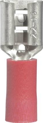 Cosse clip 6.3 mm x 0.8 mm Vogt Verbindungstechnik 3903 0.50 mm² 1 mm² partiellement isolé rouge 1 pc(s)