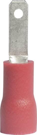 Cosse languette Largeur d'accouplement: 2.8 mm Épaisseur d'accouplement: 0.5 mm 180 ° partiellement isolé rouge Vogt Ve