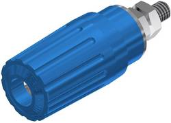 Borne de polarité Ø: 4 mm SKS Hirschmann PKI 100 930757102 bleu 35 A 1 pièce