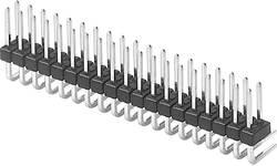 Barrette mâle (standard) W & P Products 947-13-006-00 Nbr total de pôles 6 Pas: 2.54 mm 1 pc(s)