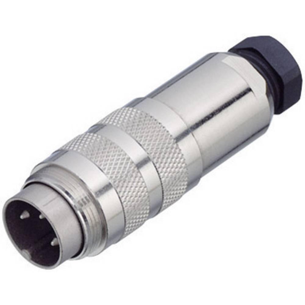Binder 99-5121-15-06 Connecteur Circulaire Mâle, Droit