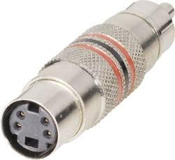 Adaptateur Cinch/RCA BKL Electronic 0204504 Cinch / RCA mâle - Mini DIN femelle 1 pc(s)