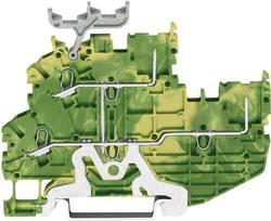 Borne de base WAGO 2020-2207 3.50 mm ressort de traction Affectation des prises: terre vert-jaune 1 pc(s)