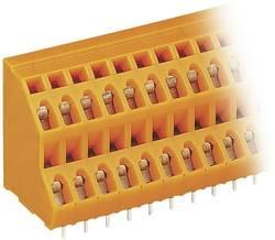 Bornier à 2 étages WAGO 736-304 2.50 mm² Nombre total de pôles 8 orange 1 pc(s)