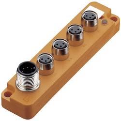Répartiteur passif M8 filetage métal Lumberg Automation SBS4/LED 3 12124 1 pc(s)