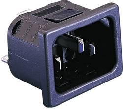 Connecteur secteur Bulgin PX0575/10/63 PX Série PX embase mâle verticale Nbr total de pôles: 2 + PE 10 A noir 1 pc(s)