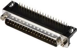 SUB-D mâle embase mâle verticale 25 pôles TRU COMPONENTS TC-A-DS 25 A/KG-T2-203 1586452 à souder 1 pc(s)