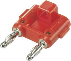 Fiche de liaison SCI 2430C860 rouge Ø de la broche: 4 mm Entraxe: 19 mm 1 pc(s)