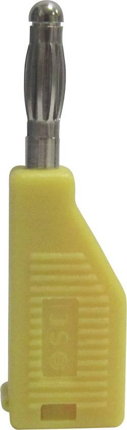 fiche à aigrette Ø de la broche: 4 mm TRU COMPONENTS TC-R8-B19 Y 1587906 jaune 1 pc(s)