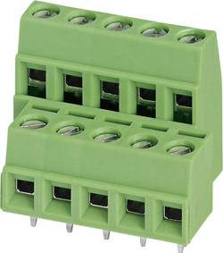 Bornier à 2 étages Phoenix Contact MKKDSN 1,5/ 6-5,08 1726189 1.50 mm² Nombre total de pôles 12 vert 1 pc(s)