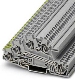 Bloc jonction pour conducteur de protection d'installation Conditionnement: 1 pc(s) Phoenix Contact STI 2,5-PE/L/L 30318