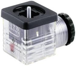 Connecteur d'électrovanne avec affichage de fonction (type A) HTP G1TU2L01 transparent Pôle:2 + PE 1 pc(s)