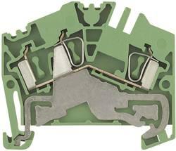 Bloc de jonction de protection Weidmüller ZPE 2.5-2 1772090000 vert-jaune 1 pc(s)