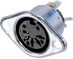 Connecteur circulaire DIN embase femelle, contacts droits Neutrik NYS324 Nombre total de pôles: 3 argent 1 pc(s)