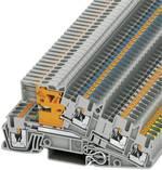 Bloc de jonction pour conducteur de protection d'installation Conditionnement: 1 pc(s) Phoenix Contact PTI 2,5-PE/L/NT 3