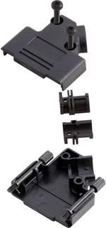 Capot SUB-D 15 pôles MH Connectors 6560-0107-12 matière plastique 45 ° noir 1 pièce