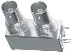 Connecteur BNC embase femelle horizontale, embase femelle horizontale 75 Ω Amphenol B705004-NPB3G-75 1 pc(s)