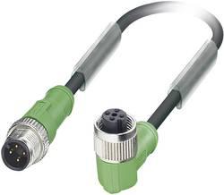 Câble pour capteurs/actionneurs Phoenix Contact SAC-4P-M12MS/ 0,6-PUR/M12FR 1668483 Conditionnement: 1 pc(s)