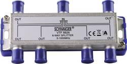 Répartiteur TV câble Schwaiger VTF8826 6x 5 - 1000 MHz