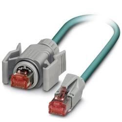 Câble de raccordement réseau RJ45 CAT 5, CAT 5e SF/UTP Phoenix Contact - [1x RJ45 mâle - 1x RJ45 mâle] -