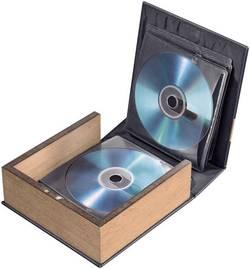 Album CD, photo CD Hama 78385 28 CDs/DVDs/disques Blu-ray cuir marron (mat) (l x h x p) 163 x 170 x 63 mm 1 pièce