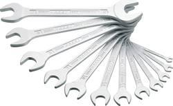 Jeu de clés plates doubles 12 pièces 6 - 32 mm DIN 3110, DIN ISO 10102 Hazet 450N/12