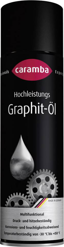 Huile au graphite 500 ml Caramba 6003071
