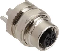 Prise Harting Han® M12 21 03 321 6510 femelle, encastrable pour circuit imprimé Pôle: 5 1 pc(s)