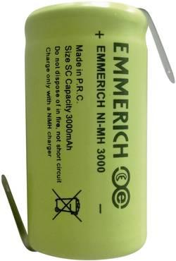 Accu NiMH Emmerich ZLF 3000 mAh SC3000