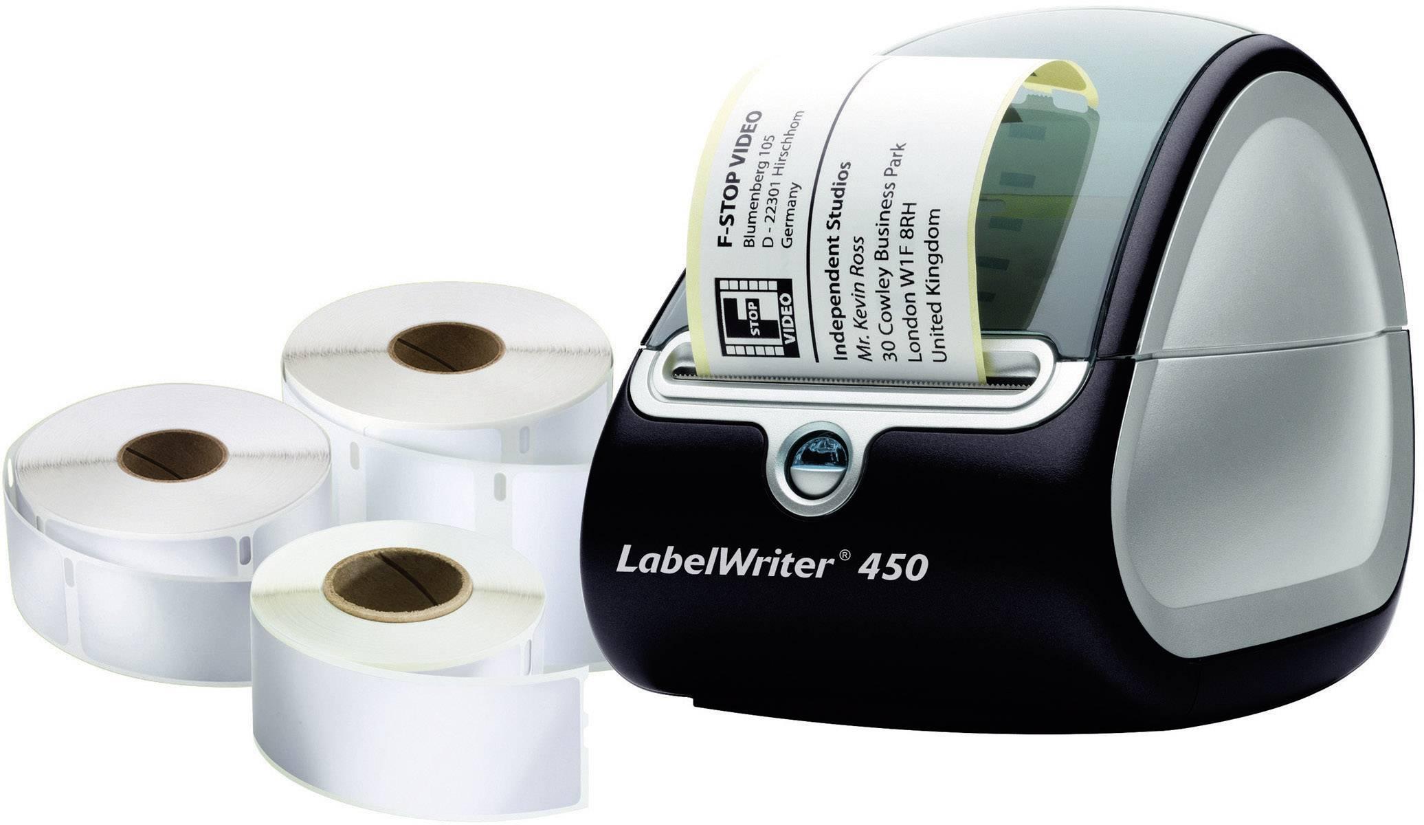 Dymo LabelWriter 450 Imprimante dÉtiquettes USB et 3 Rouleaux dÉtiquettes 1896042 Etiqueteuse
