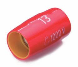 """Douille 6 pans extérieurs 18 mm Longueur: 50 mm Cimco 112613 Emmanchement: 1/2"""" (12.5 mm) 1 pc(s)"""