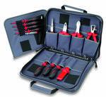 Sacoche à outils avec 12 outils de sécurité