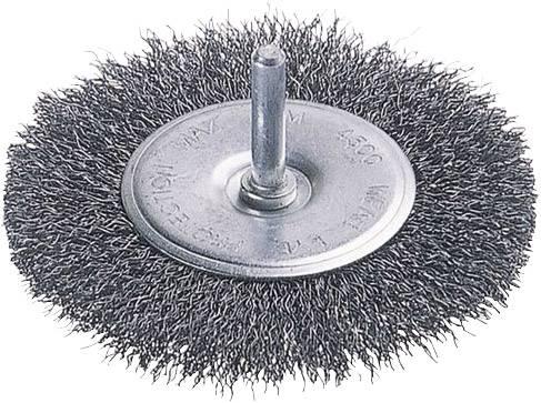 Wolfcraft 2718000 1 Brosse /à Main  Forme Bougie 3 Rang/ées Fil Dacier Longueur 60 Mm  X Largeur 20 Mm  Poign/ée Bois Longueur Totale 200 Mm