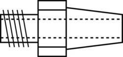 Buse d'aspiration Star Tec 90151 Taille de la panne 1 mm 1 pc(s)