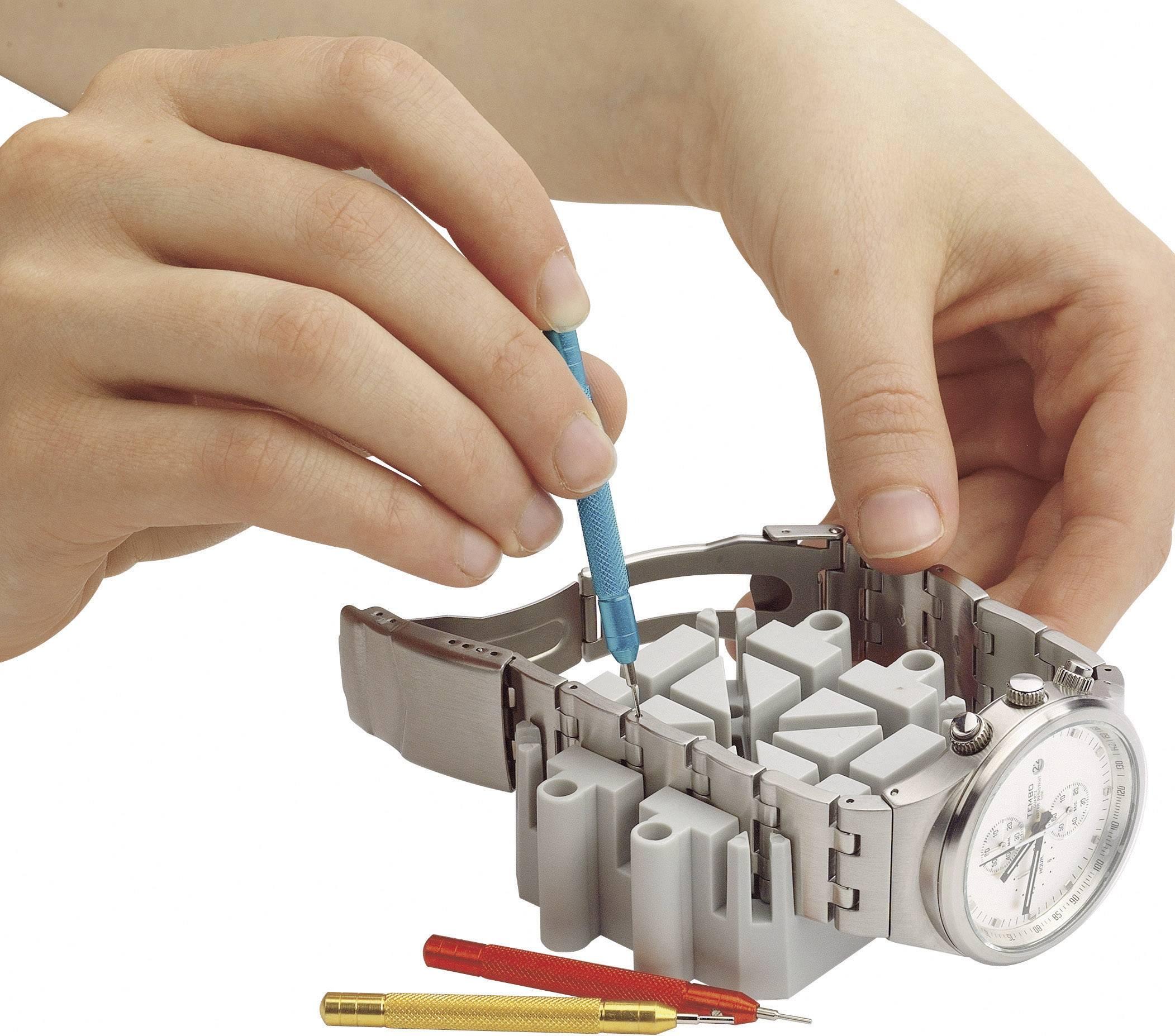 Outil pour raccourcir le bracelet métallique de votre montre