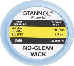 Tresse de dessoudage NC/AA 1.5 mm Stannol