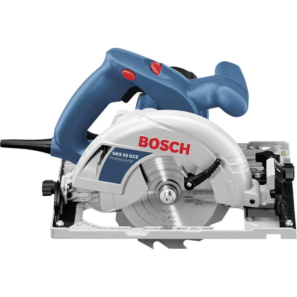 scie circulaire manuelle 160 mm + mallette bosch professional gks 55