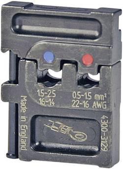 Matrice à sertir Pressmaster 4300-3129 0.5 à 2.5 mm² adapté pour marque Pressmaster 1 pc(s)