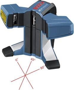 Laser de carreleur Bosch Professional GTL 3 0601015200 Portée (max.): 20 m Etalonné selon: d'usine (sans certificat)
