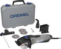 Mini scie circulaire + accessoires, + mallette 8 pièces Dremel DSM 20-3/4 F013SM20JA 710 W