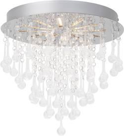 Plafonnier LED Brilliant Svea 15 W chrome, transparent